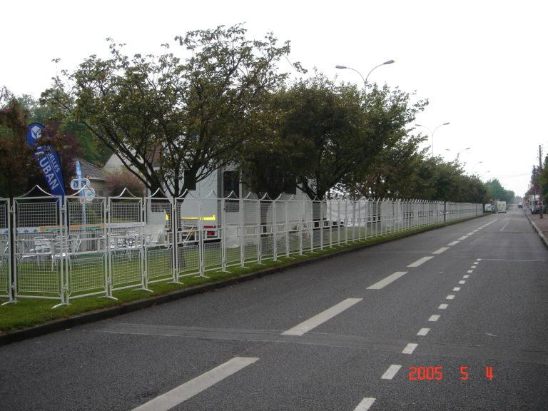 Barrières haute