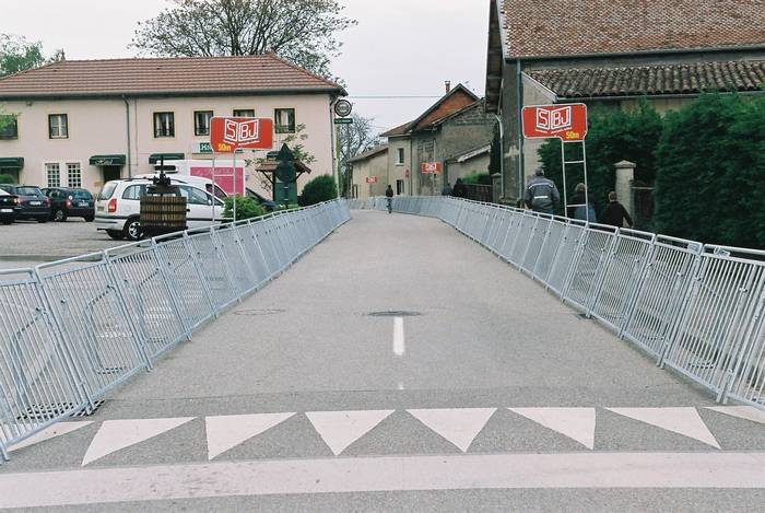 Barrières ligne d'arrivée