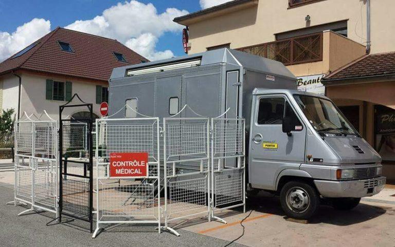 Camion controle anti-dopage